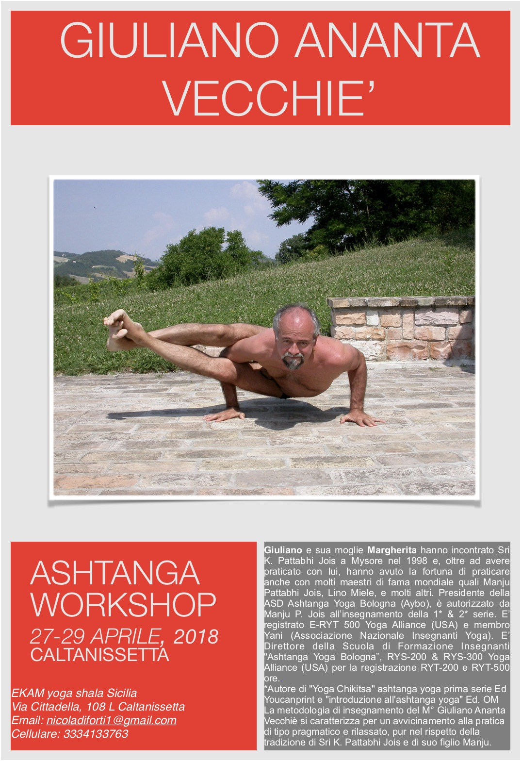 Workshop Sicilia 2018